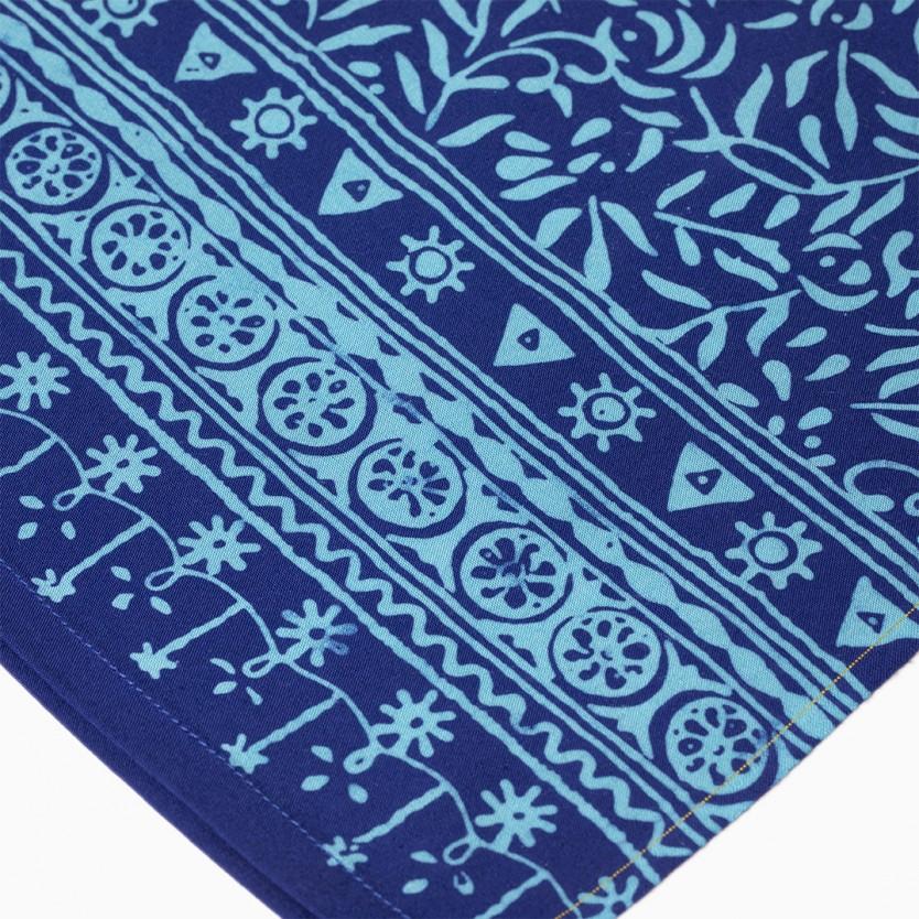 pareo batik azul