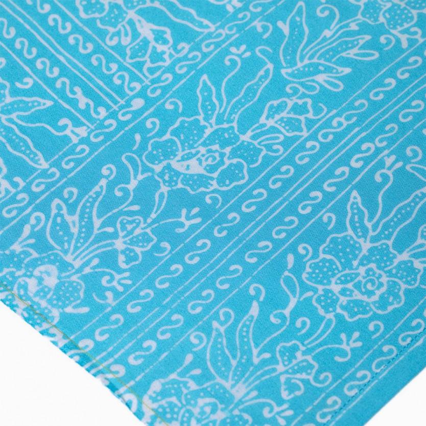 pareo batik turquesa