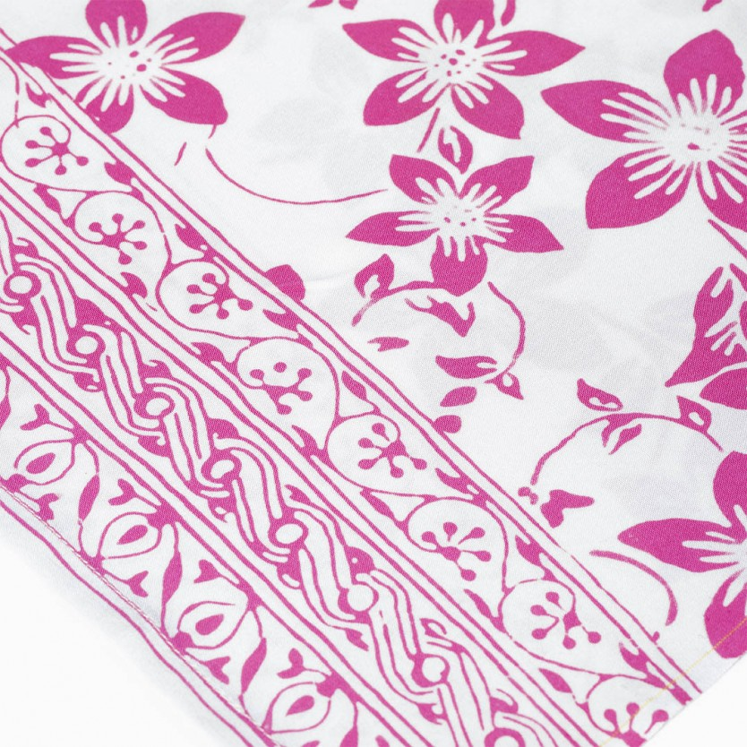 pareo batik blanco