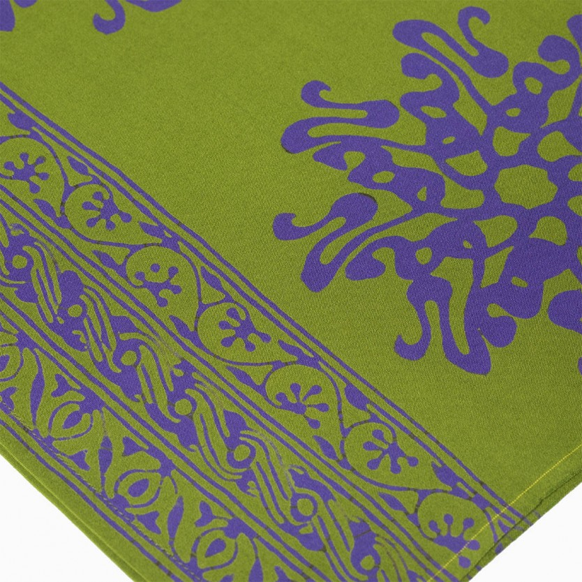 pareo batik verde
