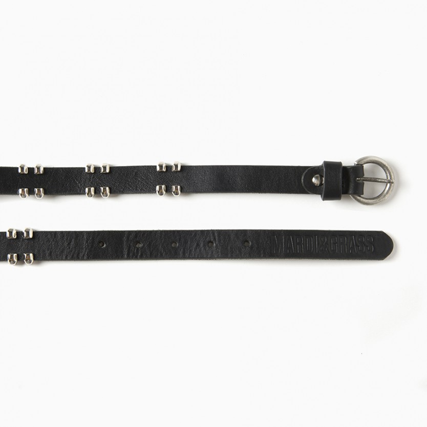 cinturón versus negro