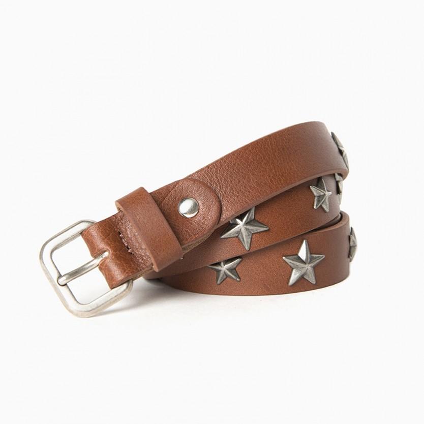 cinturón stars marrón