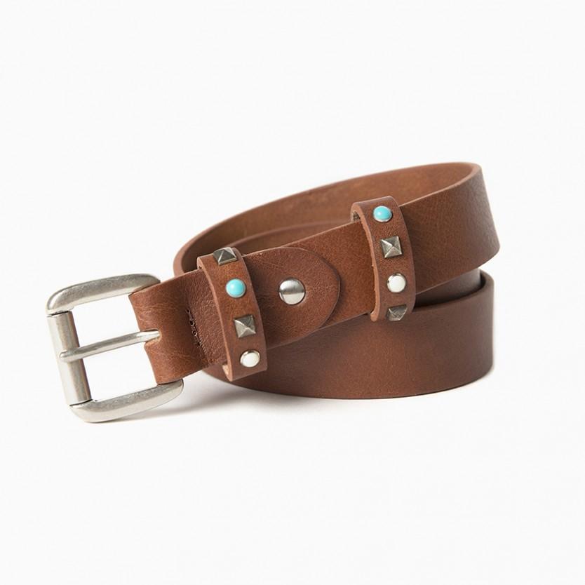 cinturón turquoise twice...