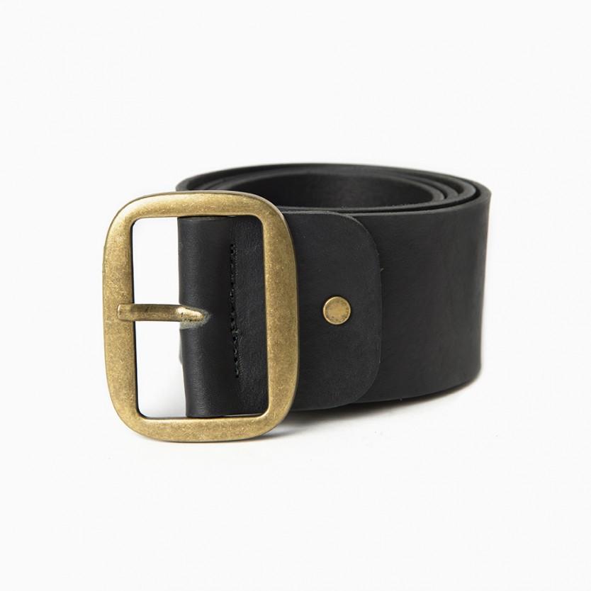 cinturón ancho straight negro