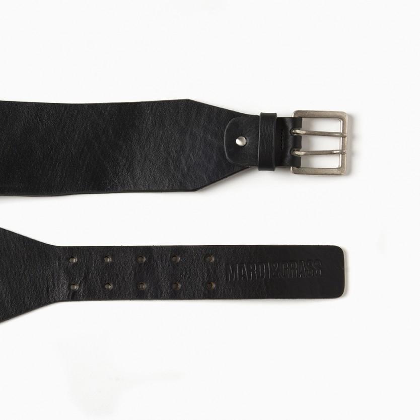 cinturón ancho curve negro