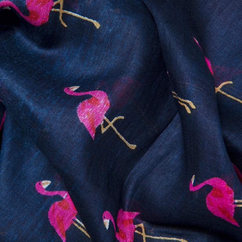 foulard flamingo