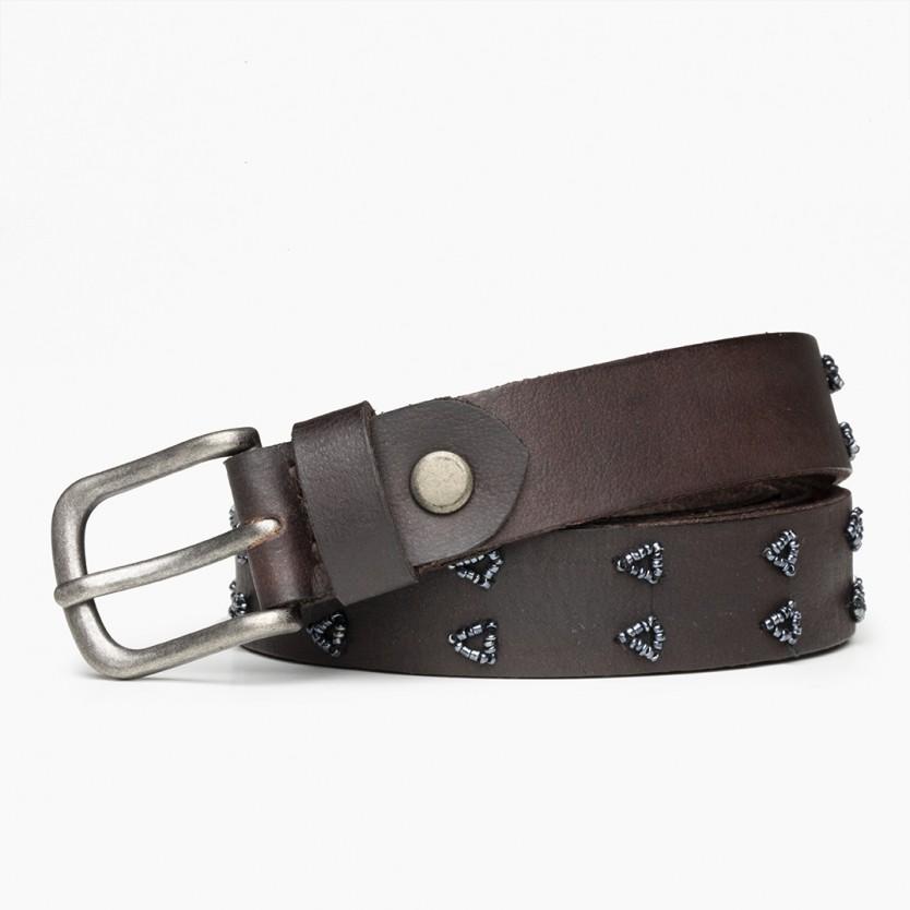 cinturón tri marrón