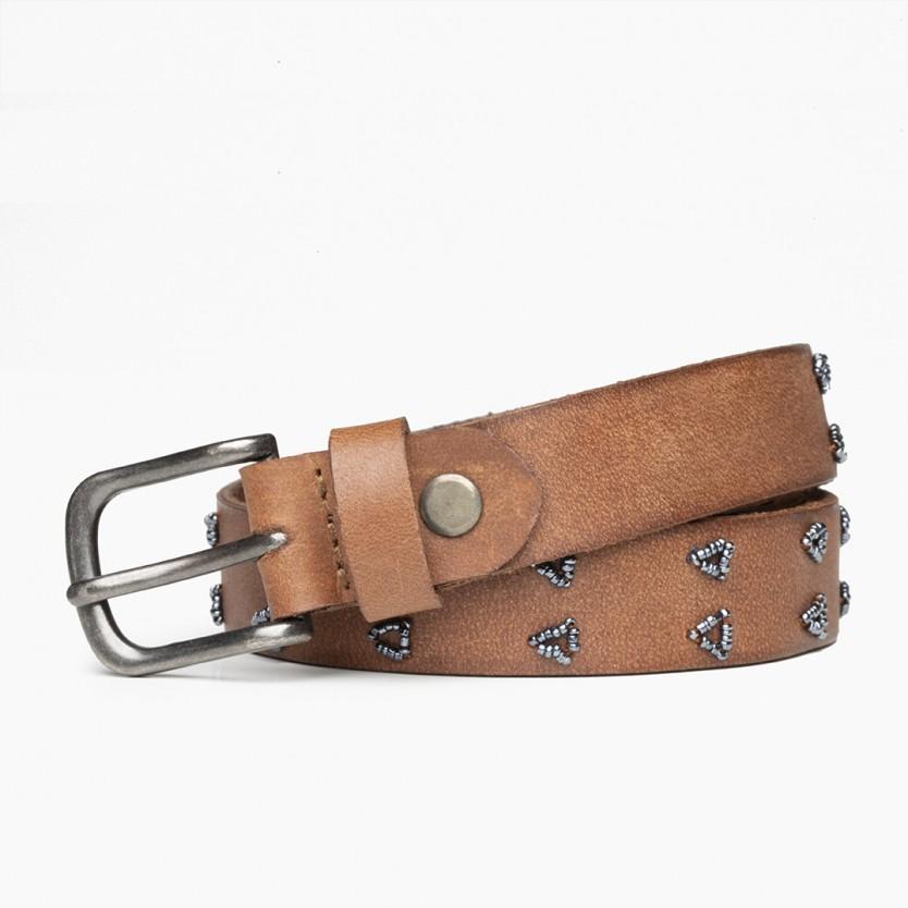 cinturón tri avellana