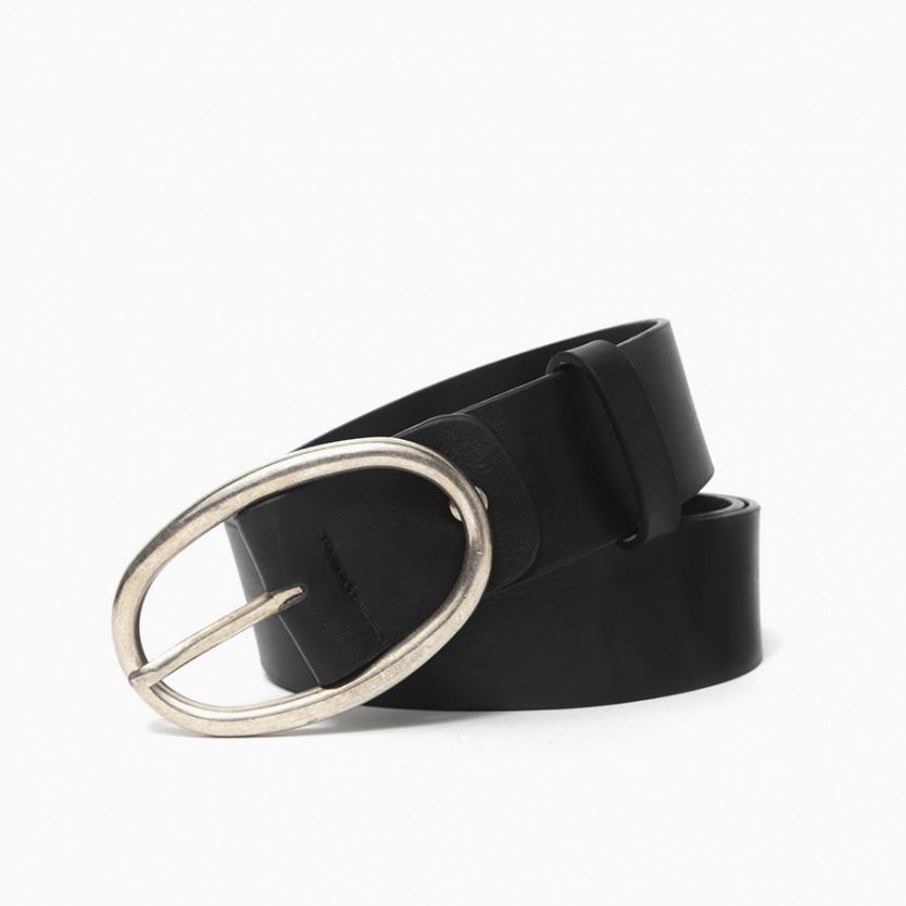 cinturón hebilla oval